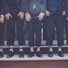 Bräutigam und Groomsmen Rieke Richter Weddings Hochzeitsplanung
