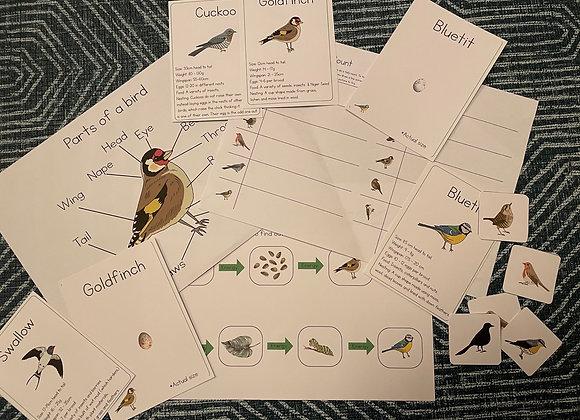 Full set Birdlife learning set