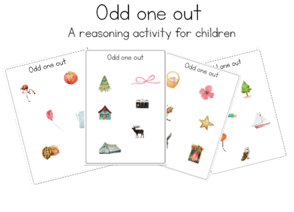 Odd one out-reasoning activity