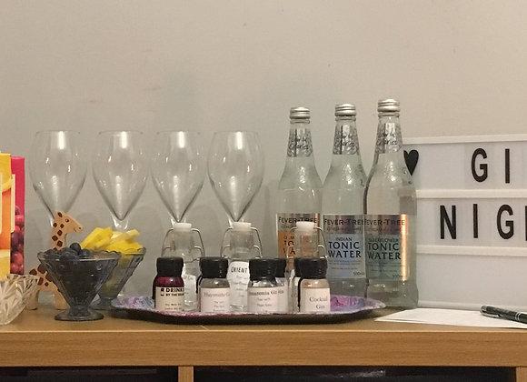 Virtual Gin night kit