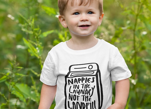 Nappies in the Laundry T-shirt