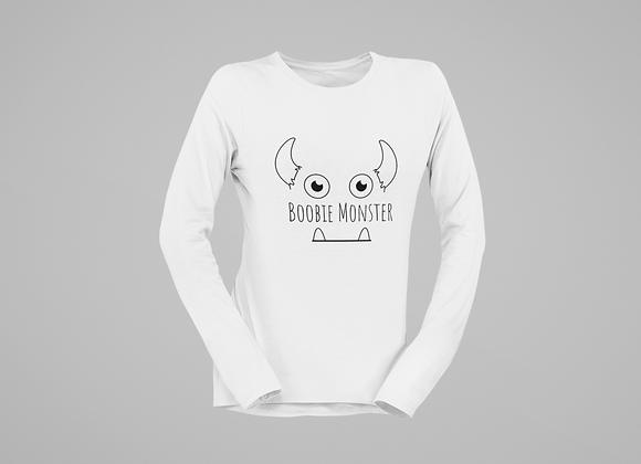 Boobie monster Long sleeve T-shirt