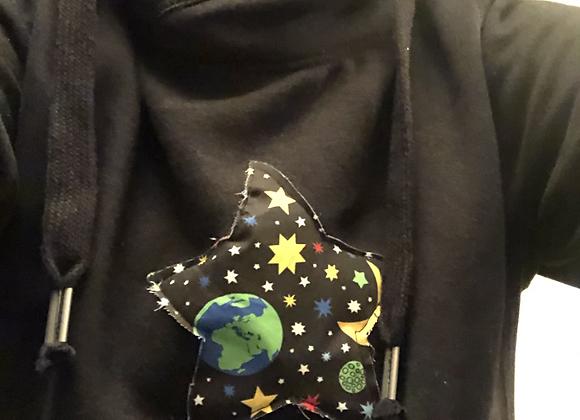 Star fashion hoodie