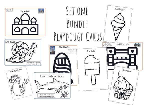 Mega Bundle playdough cards set one (See description)