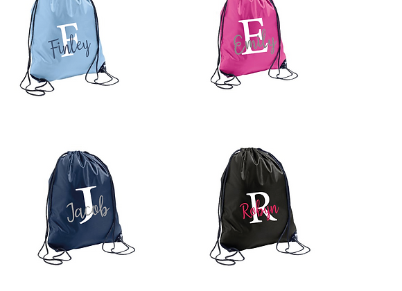PE Bags (Initials and names)