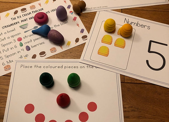 Loose Parts Preschool cards