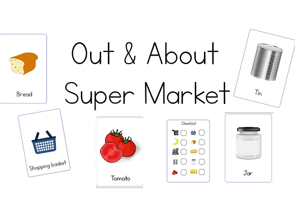 Out & About - Supermarket