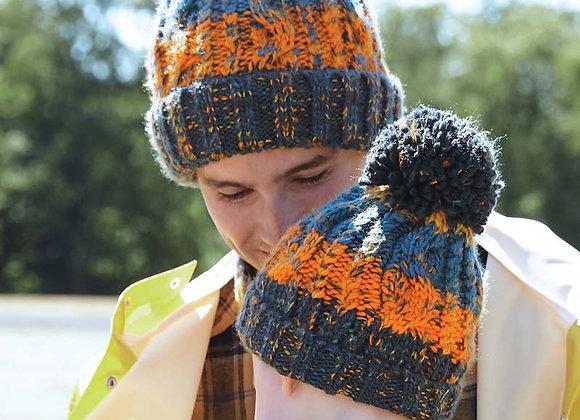 Multi coloured hat