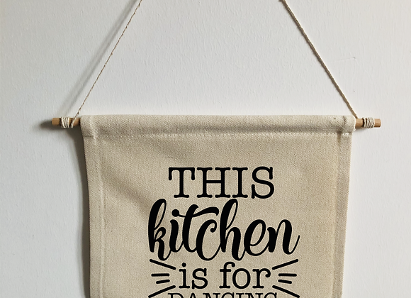 Kitchen Pennant Flag