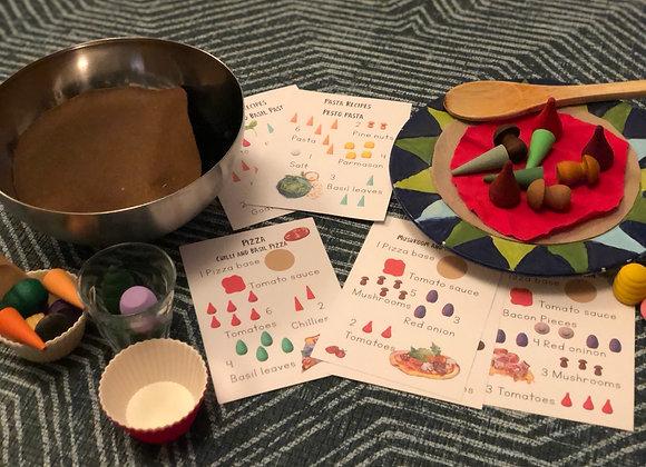 Simple set of recipe cards - Bundle