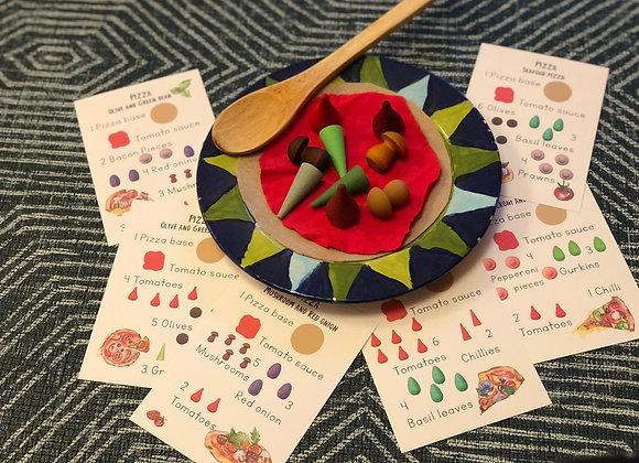 Printed Simple Recipe cards