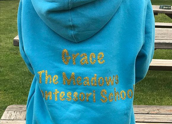 Meadows Montessori Zip up Hoodie