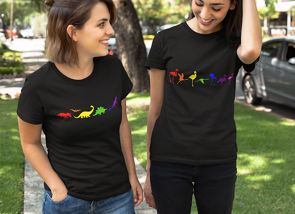 Adult rainbow t-shirts