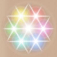 Licht op alle chakra's