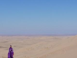 En in de woestijn zag ik de regenboog