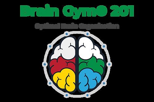 Optimal Brain Organization Class - Nov 7, 8, 9, 10, 2020