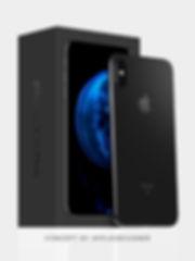 iPhone packaging black