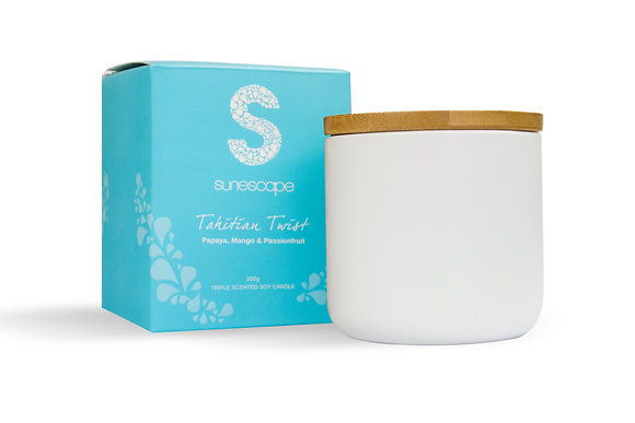 'Tahitian Twist' Triple Scented Soy Candle