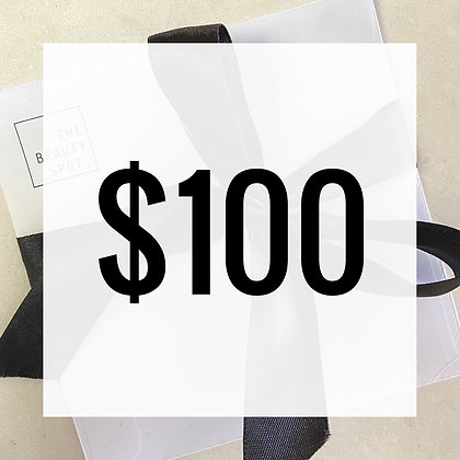 $100 Gift Voucher - Hard Copy