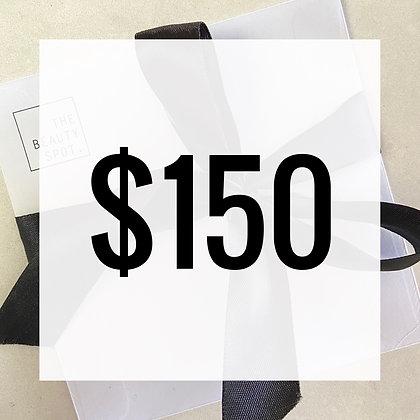 $150 Gift Voucher - Hard Copy