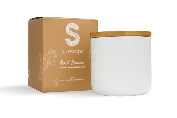'Bali Breeze' Triple Scented Soy Candle
