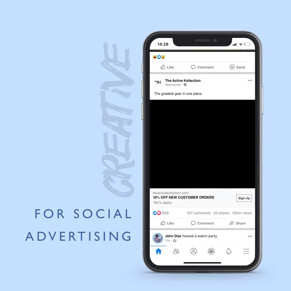 Paid Ad Creative