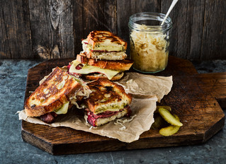 The World's Best Sauerkraut Toastie