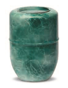 Urna de cenizas - Acero inox Pintada Verde