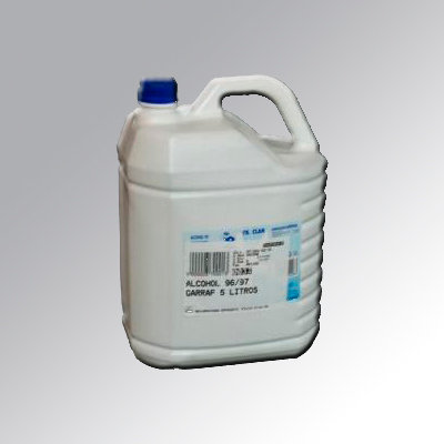 ALCOHOL 96º 5L