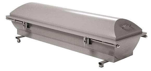 Arca de recogidas en aluminio de 2mm. con asas