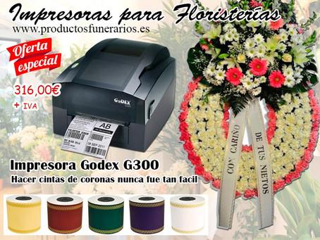 Impresora para cintas de coronas