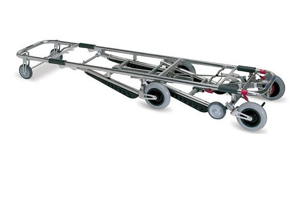 Carro autocarga recuperación y transporte de cadav