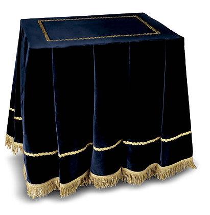 Mantel modelo Cristallo Azul Marino para mesa de F