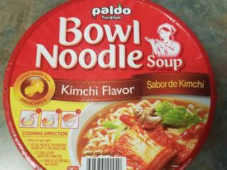 Ramen Review: Paldo Bowl Noodle Kimchi Flavor