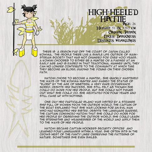 High Heel Hattie