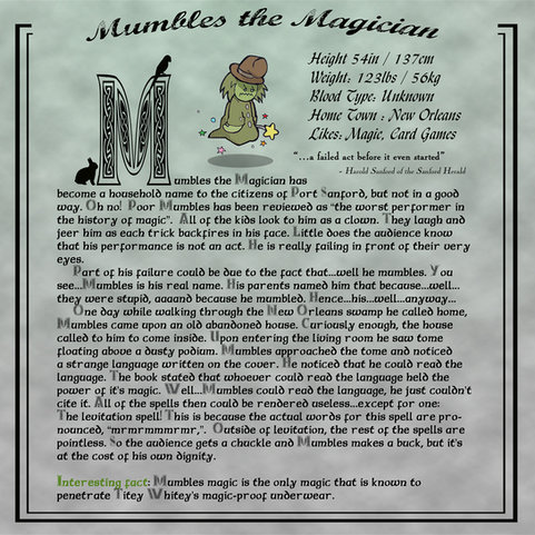 Mumbles the Magician