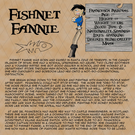 Fishnet Fannie