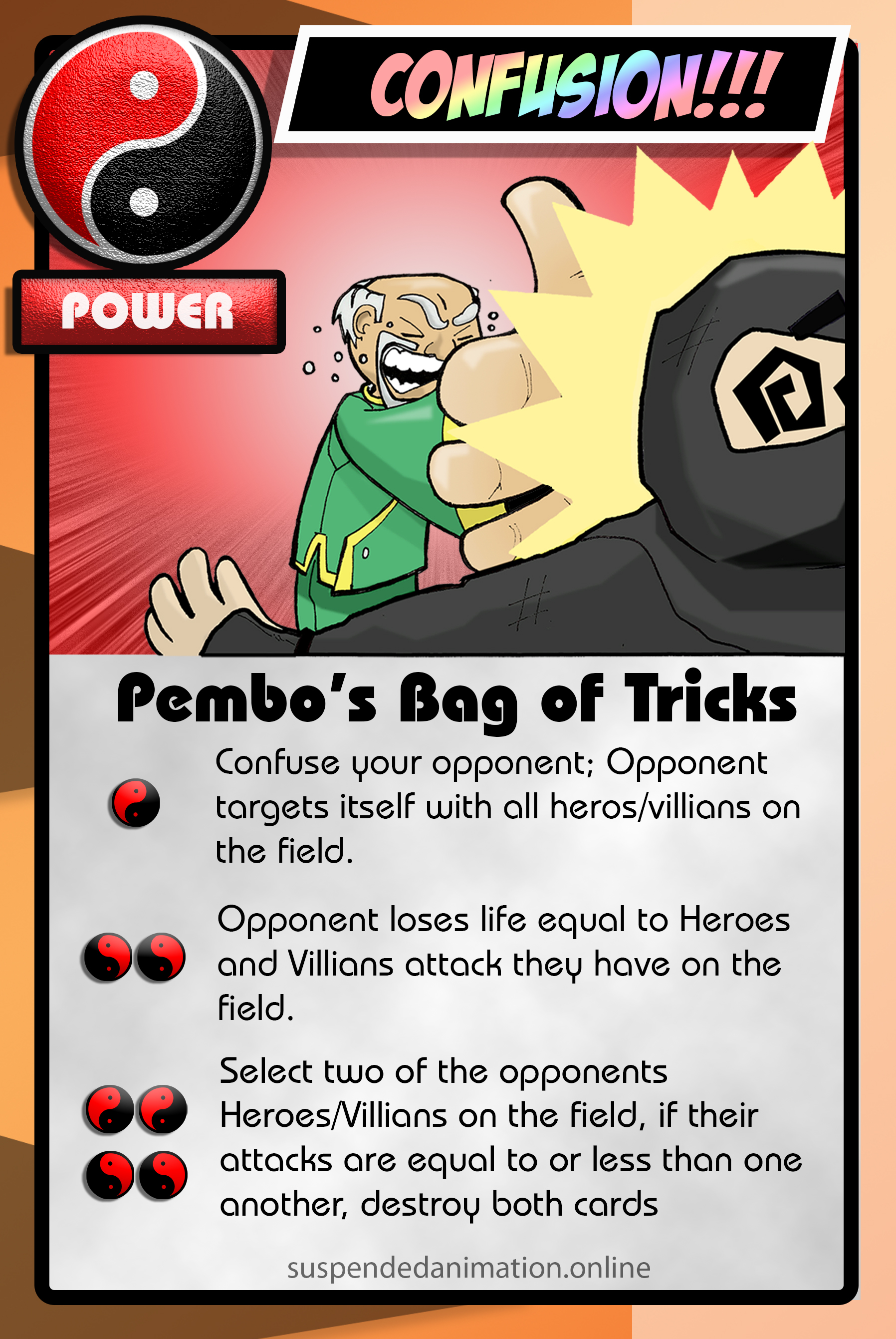 Pembos Bag of Tricks Trimmed