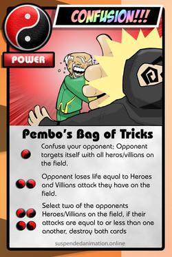 Pembos Bag of Tricks Trimmed