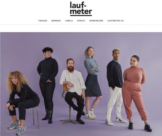 Laufmeter Online Shop / Foto: Angelika Annen