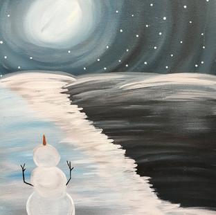 Z-Moonlight Snowman