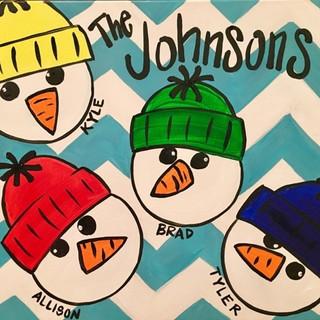 Z-Snowman Family