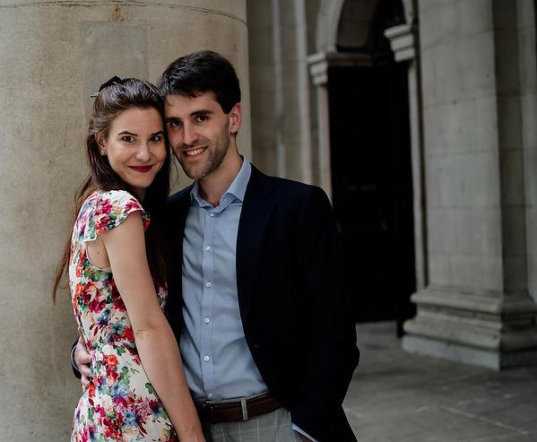 Wedding anniversary in London