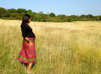 Pregnancy portrait Surrey