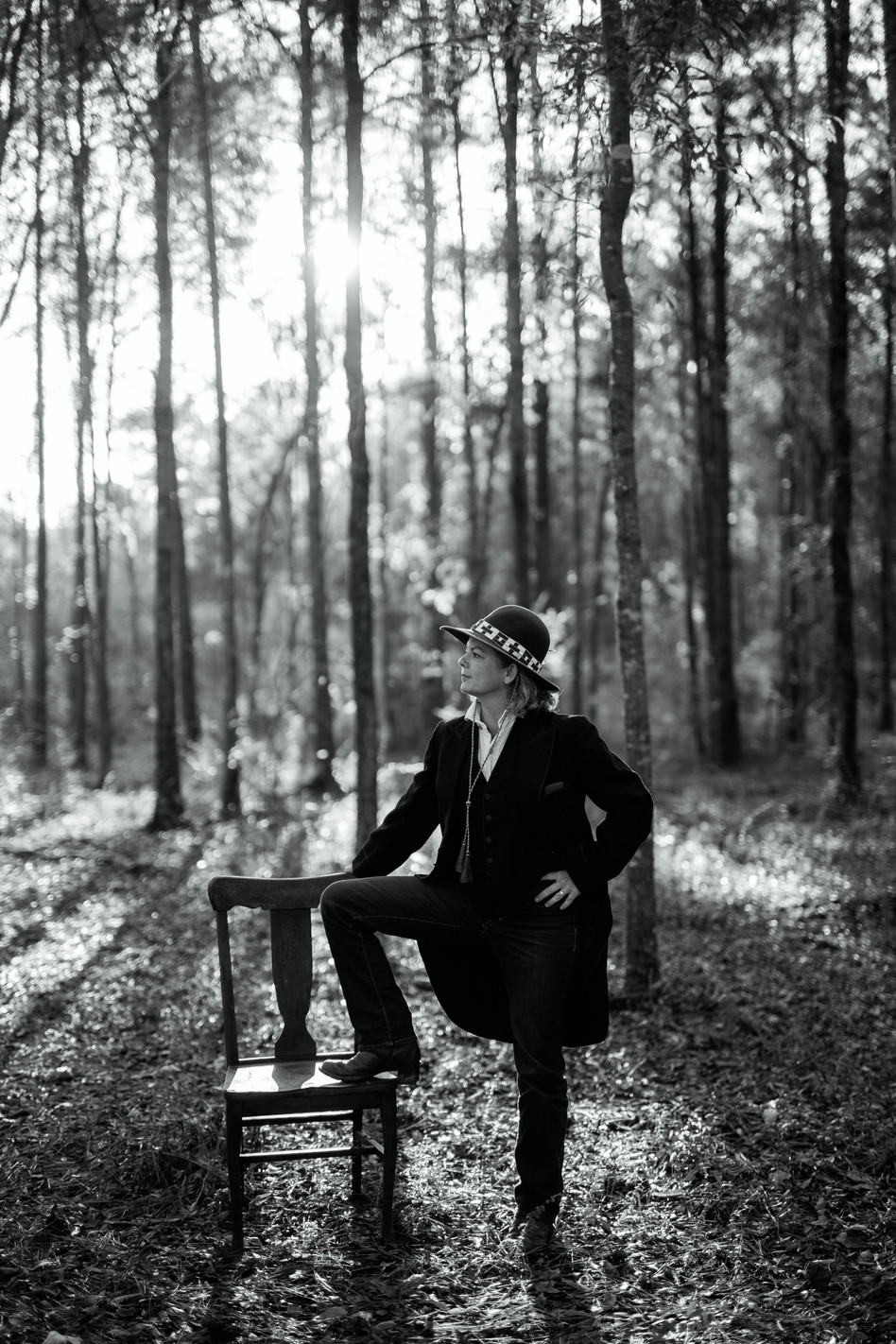 Whit in the woods of Alabama