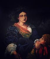 After Titian-Laura Eustochia
