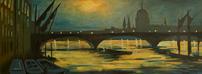 Moonlight on Thames