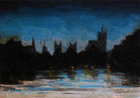Hyde Park London Twilight