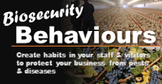 Biosecurity behaviours