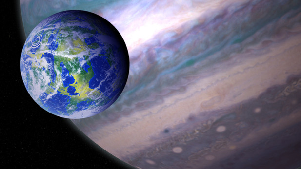 Senior Thesis: Exploring Giant Planets and their Potential Moons in the Habitable Zone